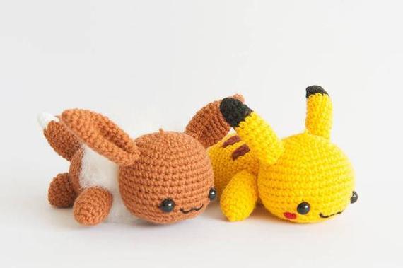 amigurumi pikachu - A magia dos Amigurumis