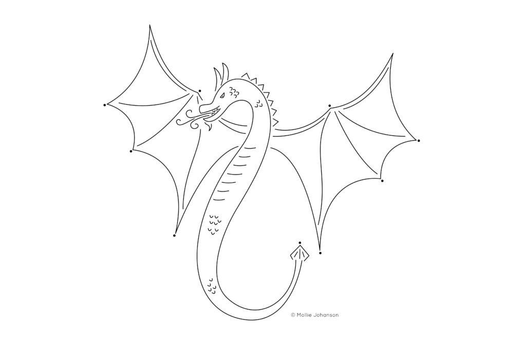 bordar um dragão