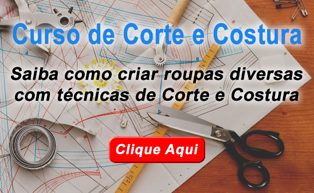 curso corte costura - Como aprender a costurar