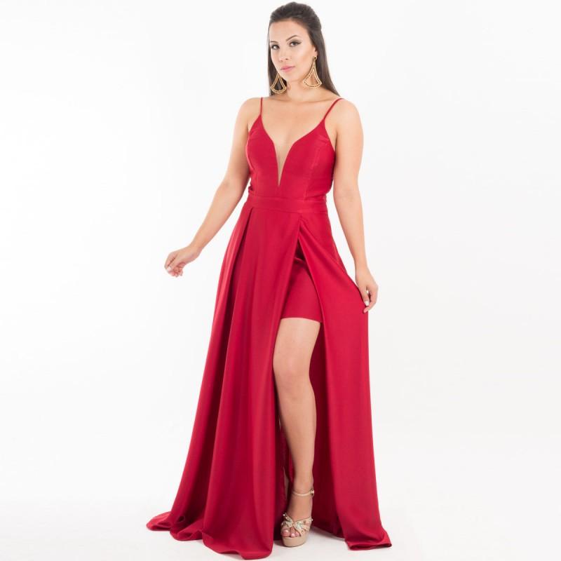 vestido com fenda lateral - Dicas de Vestidos