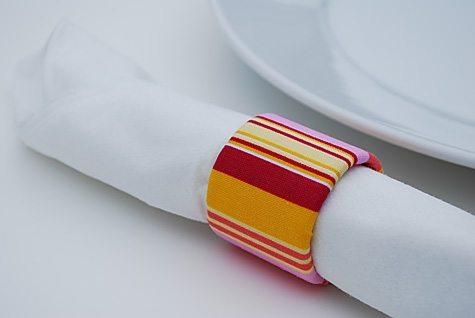 Porta Guardanapos com chita - 5 ideias de artesanato com tecido chita