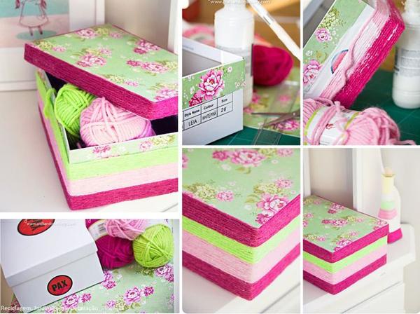 Como fazer uma caixa decorada passo a passo