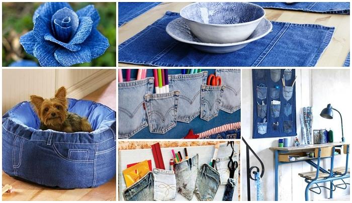 reutilizacao de jeans - Reutilizando jeans velho