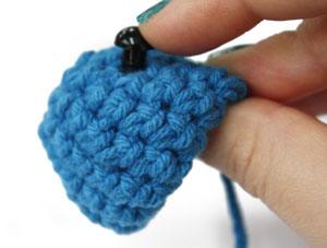 amigurumi2 1 - Como colocar olhos com trava - Amigurumi Crochê