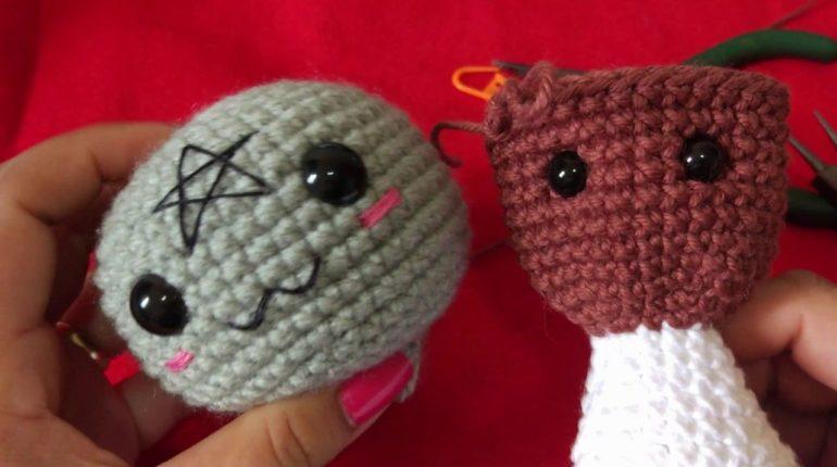 como colocar olhos com trava amigurumi croche 770x430 - Como colocar olhos com trava - Amigurumi Crochê