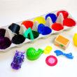 caixa coloridas 110x110 - Artesanato com Caixa de Ovo: Ideias com Passo a Passo