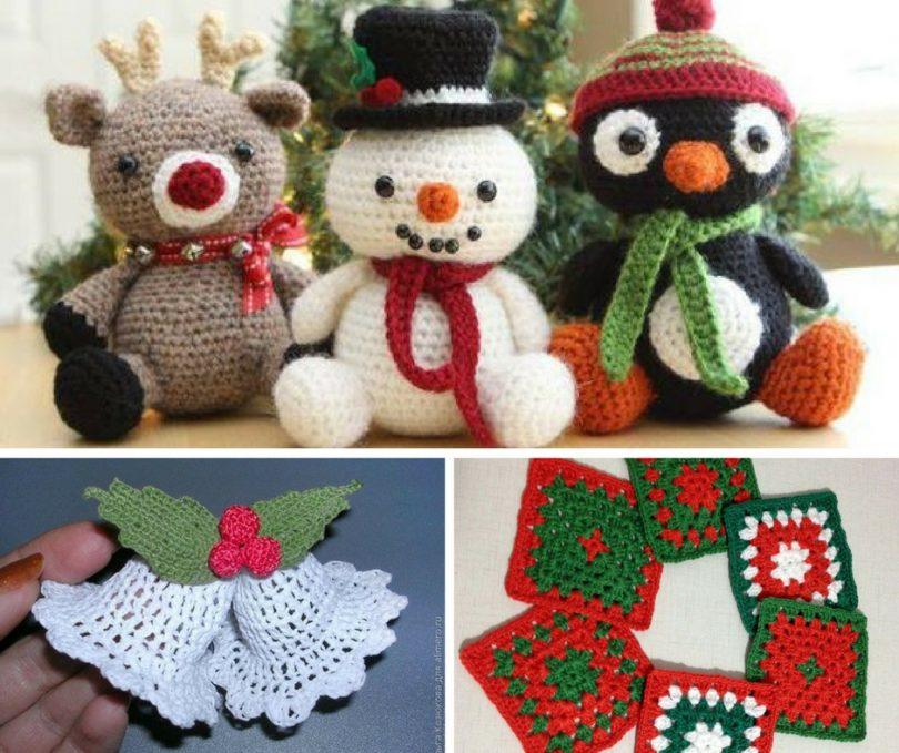 como fazer croche de natal 810x679 1 - Curso Completo de Amigurumi