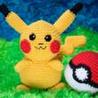 Receita de Amigurumi Pikachu 110x110 - Curso Crochê todo dia Funciona?