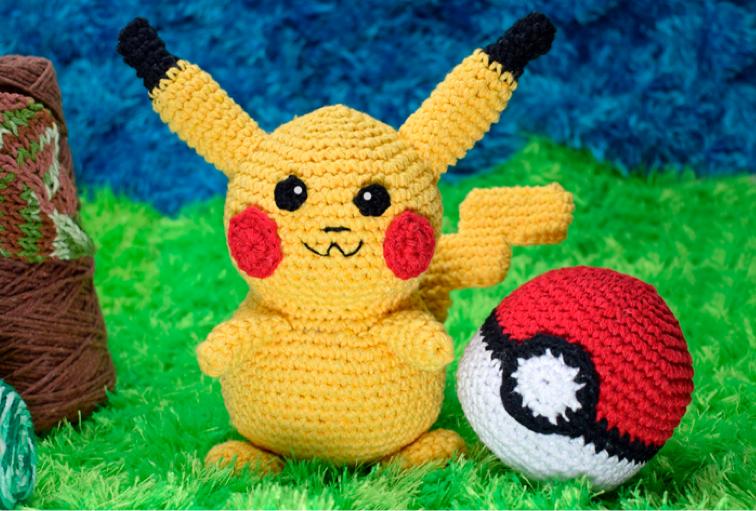 Receita de Amigurumi Pikachu - Receita do Amigurumi Pikachu