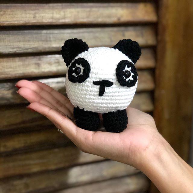 Receita Amigurumi Panda Bola - Receita Amigurumi - Panda Bola