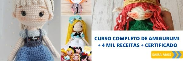 CURSO COMPLETO DE AMIGURUMI 4 MIL RECEITAS - Como lavar peças de crochê